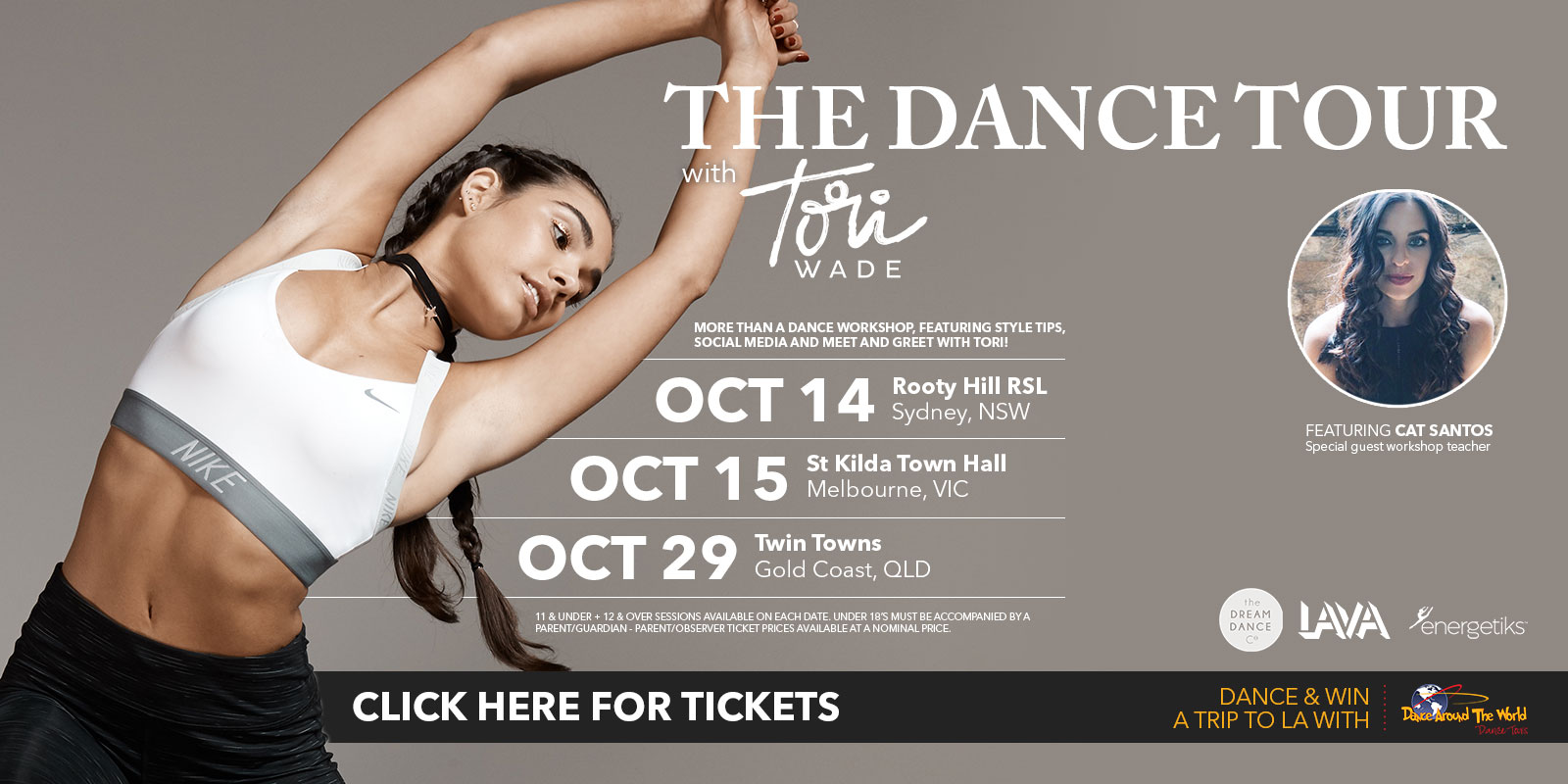 The Dance Tour with Tori Wade