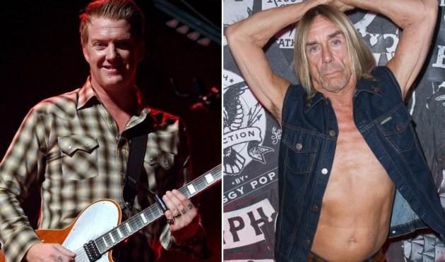 Iggy Pop y Josh Homme sacarán disco juntos