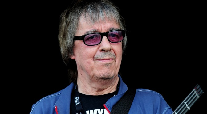 Bill Wyman, bajista legendario de The Rolling Stones fue diagnosticado con cáncer