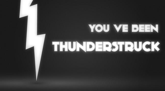 "AC/DC – ""Thunderstruck"". #TrackDelDía"