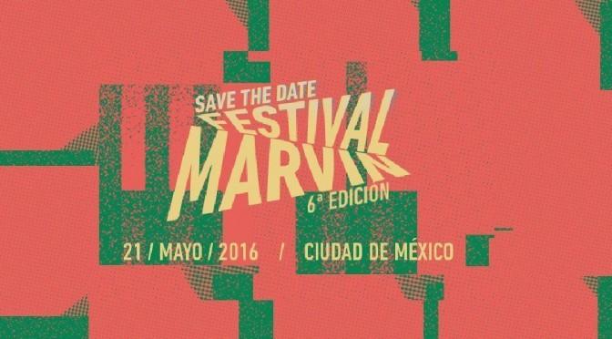 ¡Ya hay cartel del Festival Marvin 2016!