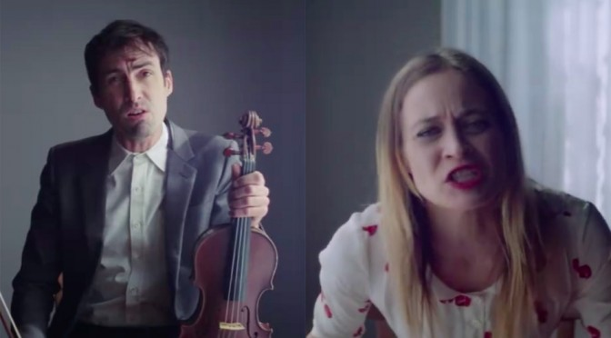 "Andrew Bird y Fiona Apple estrenan vídeo para ""Left Handed Kisses"""