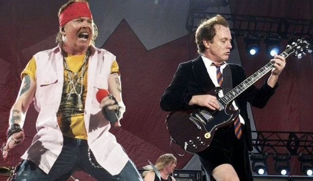 Axl Rose nuevo vocalista de AC/DC