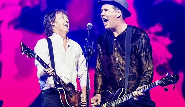 Krist Novoselic se unió a Paul McCartney en Seattle