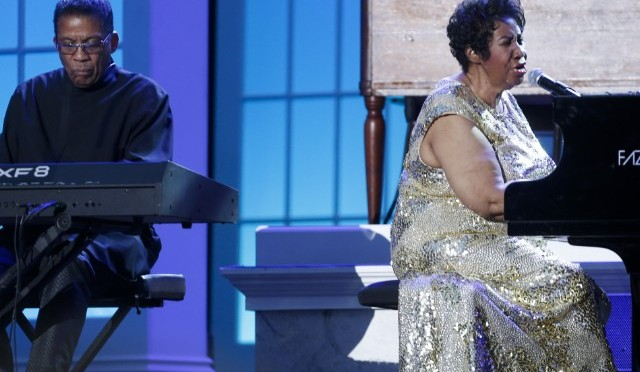 Así es como Herbie Hancock y Aretha Franklin celebraron el Día Internacional del Jazz