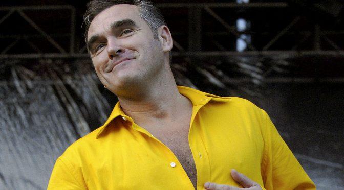 Morrissey da revés al Riot Fest: no se presentará en el festival