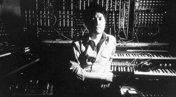 Isao Tomita Portrait In The Studio