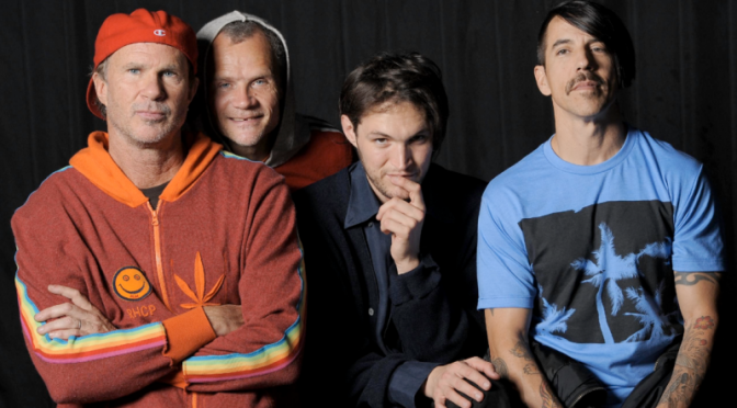 Esta semana gozaremos de música nueva de los Red Hot Chili Peppers
