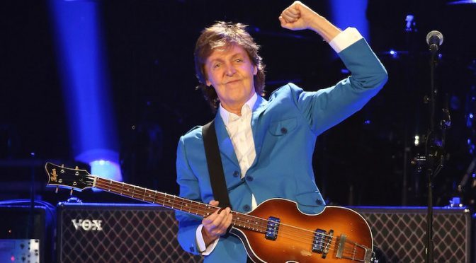 Paul McCartney platica el origen de The Beatles en un documental de realidad virtual