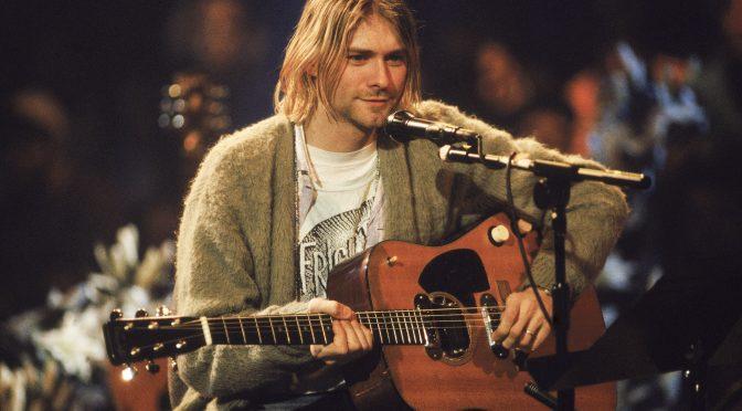 Futuro ex esposo de Frances Bean Cobain quiere la última guitarra que Kurt Cobain tocó en vida