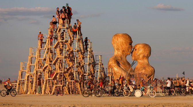 BURNING MAN: un festival creado desde cero en medio de la nada