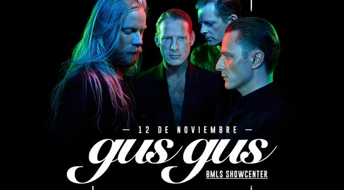 GusGus llega a Guadalajara