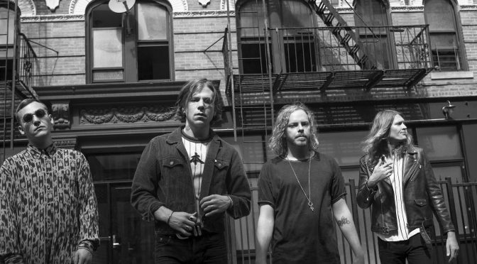 #Audiovvisual: Cage The Elephant en Electric Lady Studios