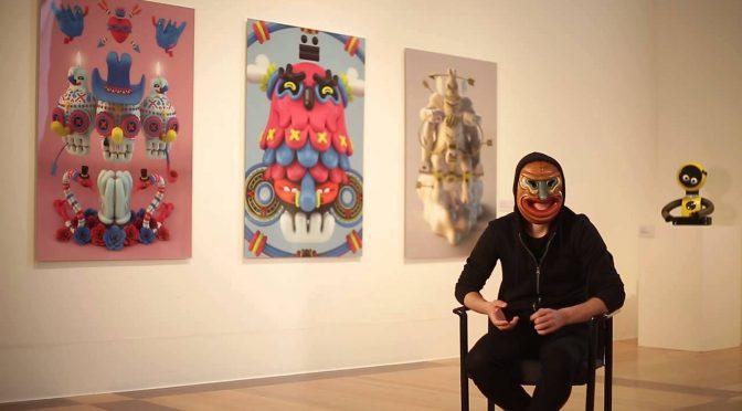 #ArteQueSuena: Grand Chamaco, la mente detrás del arte del Hellow 2017