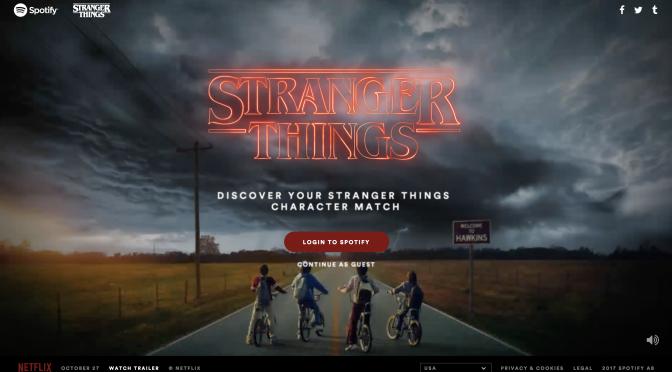 Spotify te dice qué personaje de Stranger Things eres