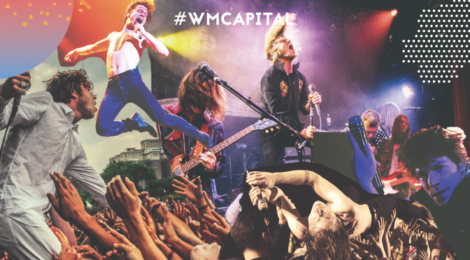 #WMPCapital: Cage The Elephant, delirante acto en vivo