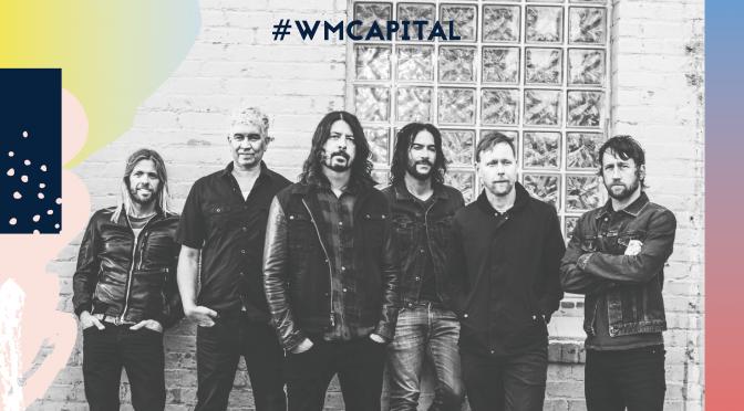 #WMPCapital: Las rolas que no pueden faltar de Foo Fighters en el #CC17