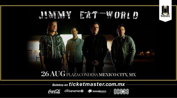Jimmy Eat World impregnará nostalgia durante su presentación en CDMX