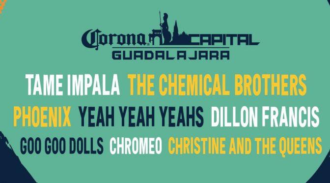 Todo lo que necesitas saber para el Corona Capital Guadalajara