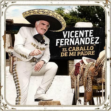 """Vicente Fernández alista su nuevo álbum con su sencillo: """"El Caballo de mi Padre"""""""