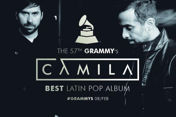 Camila nominado en la edición 57 de los Grammys