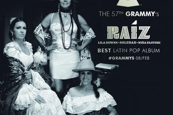 Raíz nominado en la edición 57 de los Grammys