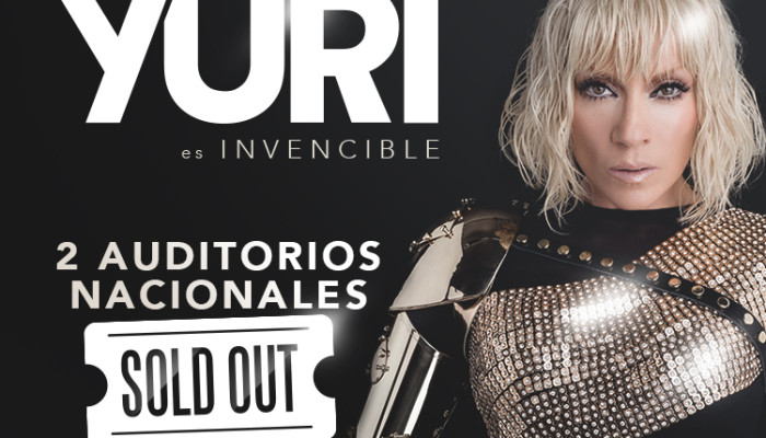 Yuri, ¡SOLD OUT! en el Auditorio Nacional
