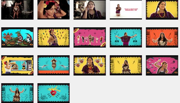 LILA DOWNS  Presenta el video oficial de  BALAS Y CHOCOLATE