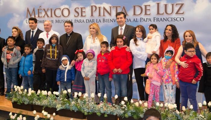 """México se pinta de """"Luz"""""""