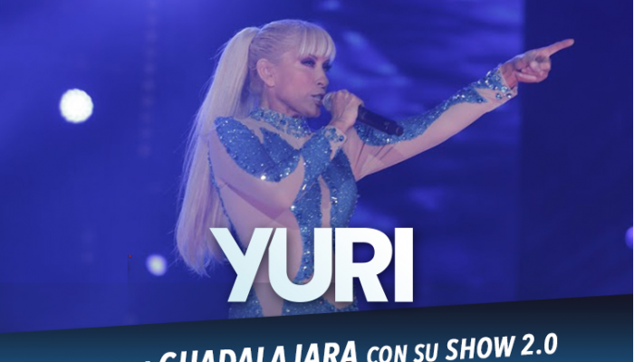 Yuri,  Llega a Guadalajara con su show 2.0