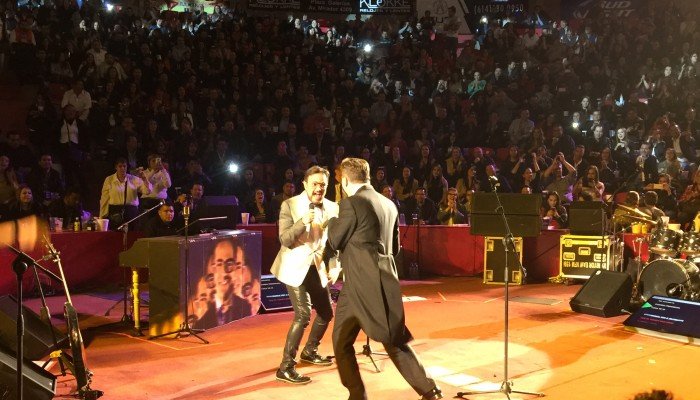 Aleks Syntek y Cristian Castro repetirán la experiencia  24 de Junio en el Auditorio Nacional