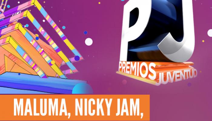 MALUMA, NICKY JAM, ABRAHAM MATEO Y ROMEO SANTOS Nominados a Premios Juventud 2016