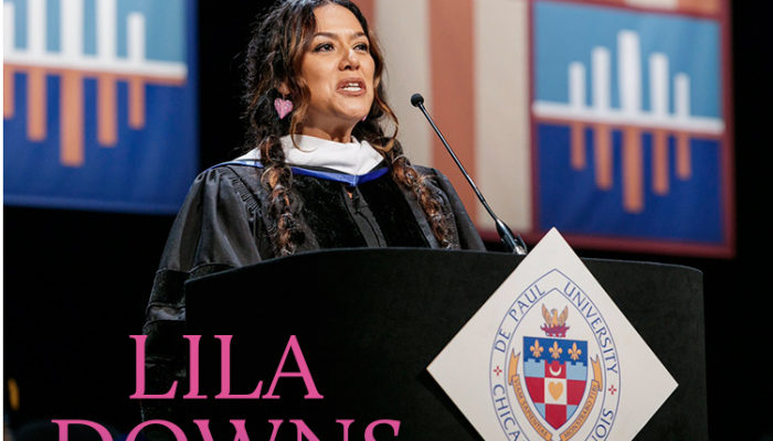 LILA DOWNS  Recibe Doctor Honoris Causa en Chicago