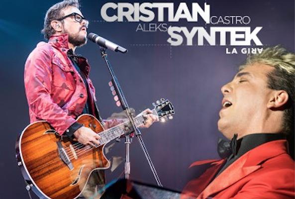 CRISTIAN & SYNTEK  Enloquecen al Auditorio Nacional