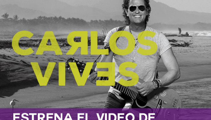 "CARLOS VIVES   Estrena el video de ""La Bicicleta"" ft. Shakira"