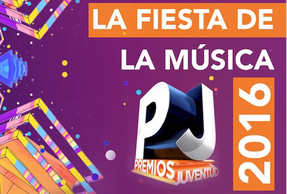 La fiesta de la Música  Premios Juventud 2016