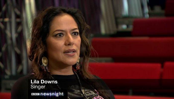LILA DOWNS  En una extraordinaria entrevista con la BBC
