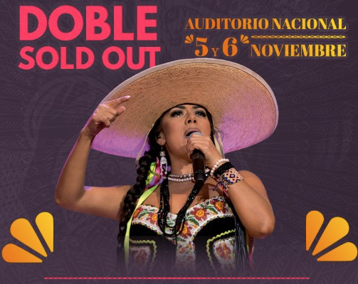 LILA DOWNS  DOBLE SOLD OUT