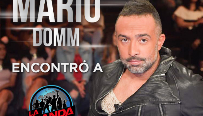 Mario Domm  Encontró a  LA BANDA