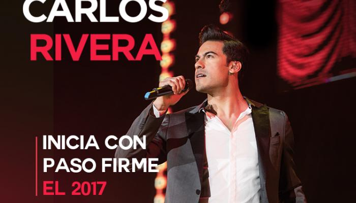 CARLOS RIVERA  Inicia con paso firme el 2017