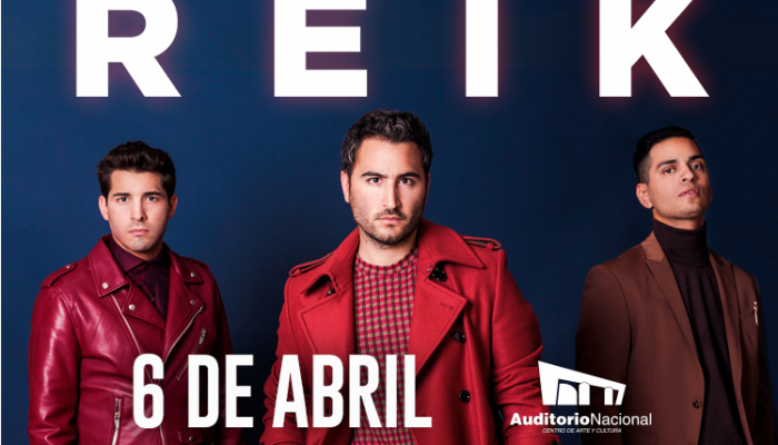 REIK  Auditorio Nacional  06 Abril
