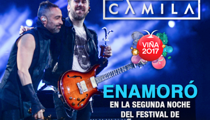 Camila FESTIVAL DE VIÑA DEL MAR