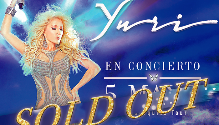 Yuri SOLD OUT 5 mayo Auditorio Nacional