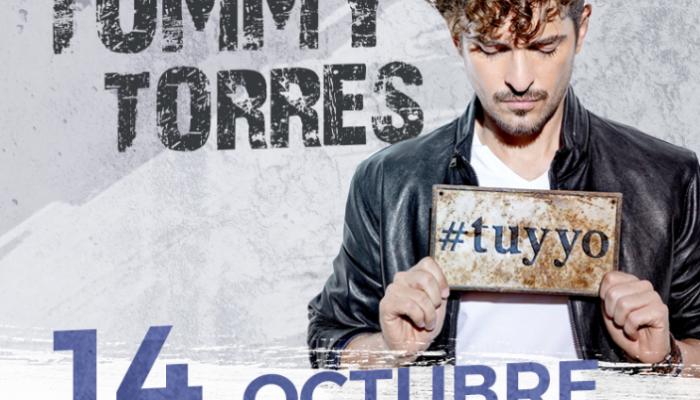TOMMY TORRES  14 OCTUBRE  EL PLAZA CONDESA