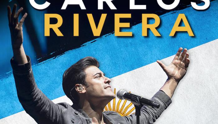 Carlos Rivera agota localidades en el Estadio Luna Park de Buenos Aires