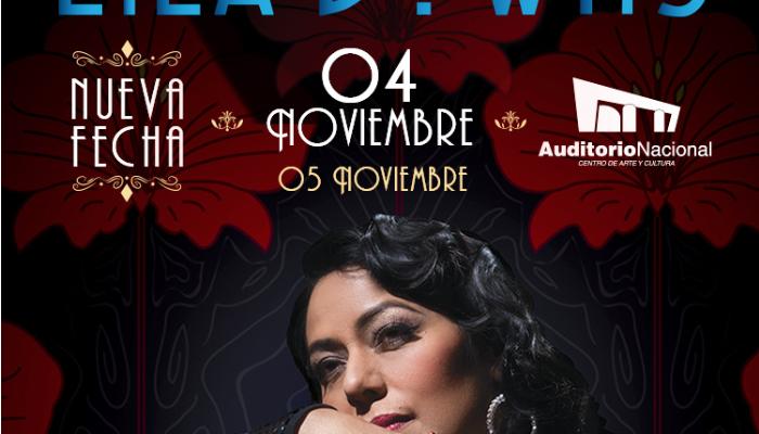 Lila Downs Nueva Fecha 04 de Noviembre Auditorio Nacional