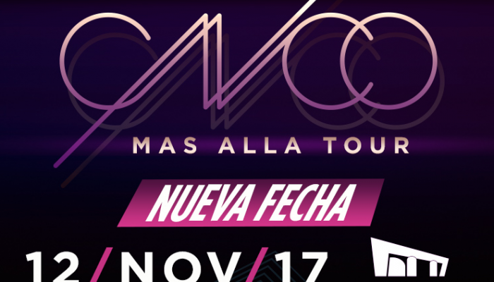 CNCO  12 Noviembre  Auditorio Nacional