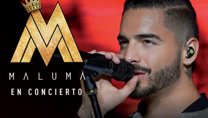 MALUMA  En concierto  15 Diciembre  Arena Ciudad de México
