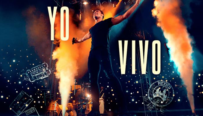 """Carlos Rivera estrena """"Yo Vivo"""", su nuevo DVD+CD."""