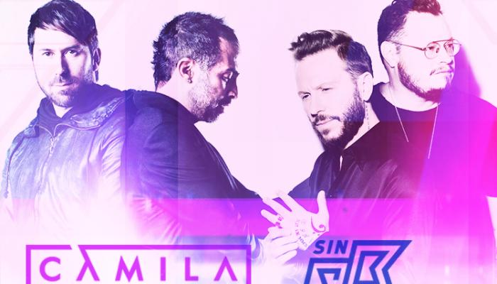 4LatiDos Tour – Camila y Sin Bandera – 09 de Noviembre Arena Ciudad de México